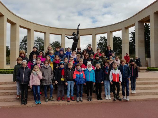 P4-P5-P6: Voyage en Normandie 19/03/2019