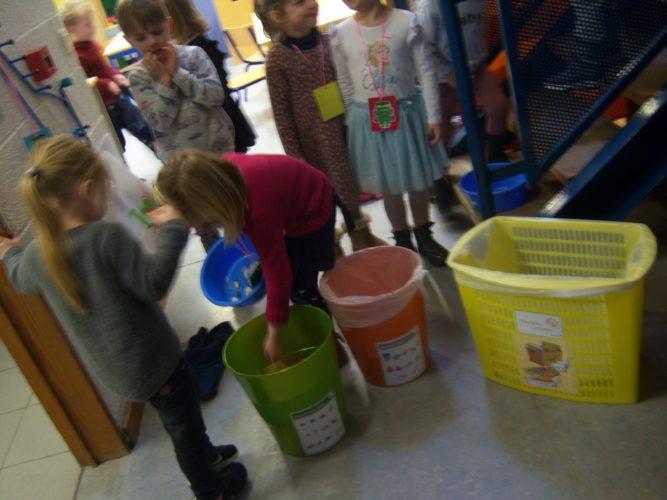 """Classe de Madame Isabelle: Projet """"Moins de déchets en classe pour 2020"""""""